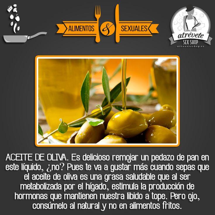 Alimentación sexual, El aceite de oliva contribuye en la formación de las hormonas #sexuales #Curiosidades
