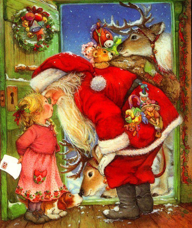 Дальнобоя, новогодние сюжетные открытки
