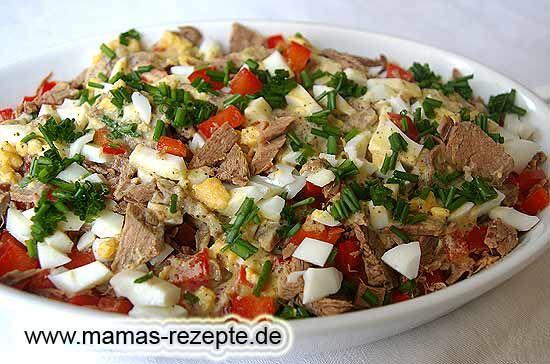 Rezept Würziger Rindfleischsalat auf Mamas Rezepte Homepage