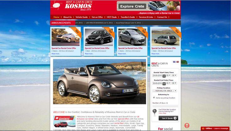 Kosmos Car Rental in Crete.
