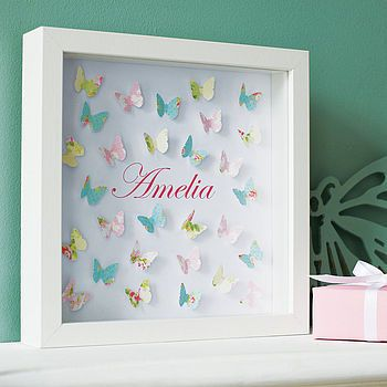 So sweet for a little girl's room. Could be done with any shape/color combo to suit the child's taste. Would make a great gift.