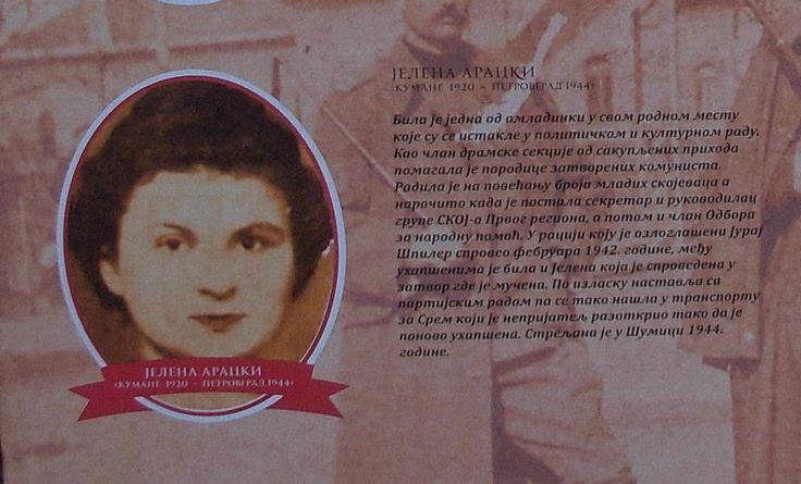 #JelenaAracki (1920-1944) /Izvor: Izložba na trgu/ #Zrenjanin https://flii.by/file/mhvfld9p19i/