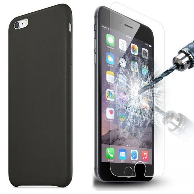apple iphone 4 4s 5 5s 5c 6 6 tempered glass screen ecran vitre tremp e pour 4 4s 5 5s 5c 6 6. Black Bedroom Furniture Sets. Home Design Ideas