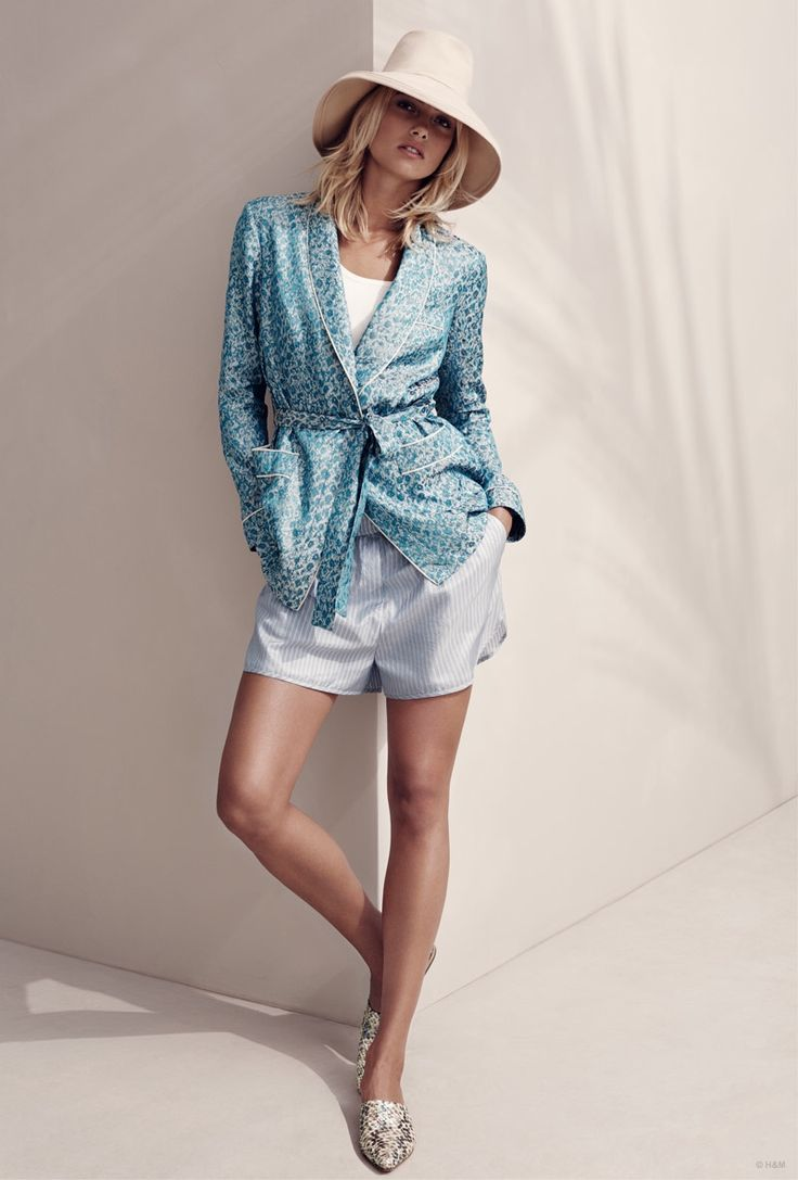 H&M STUDIO SPRING 2015 COLLECTION FEATURING CHIC RESORT WEAR