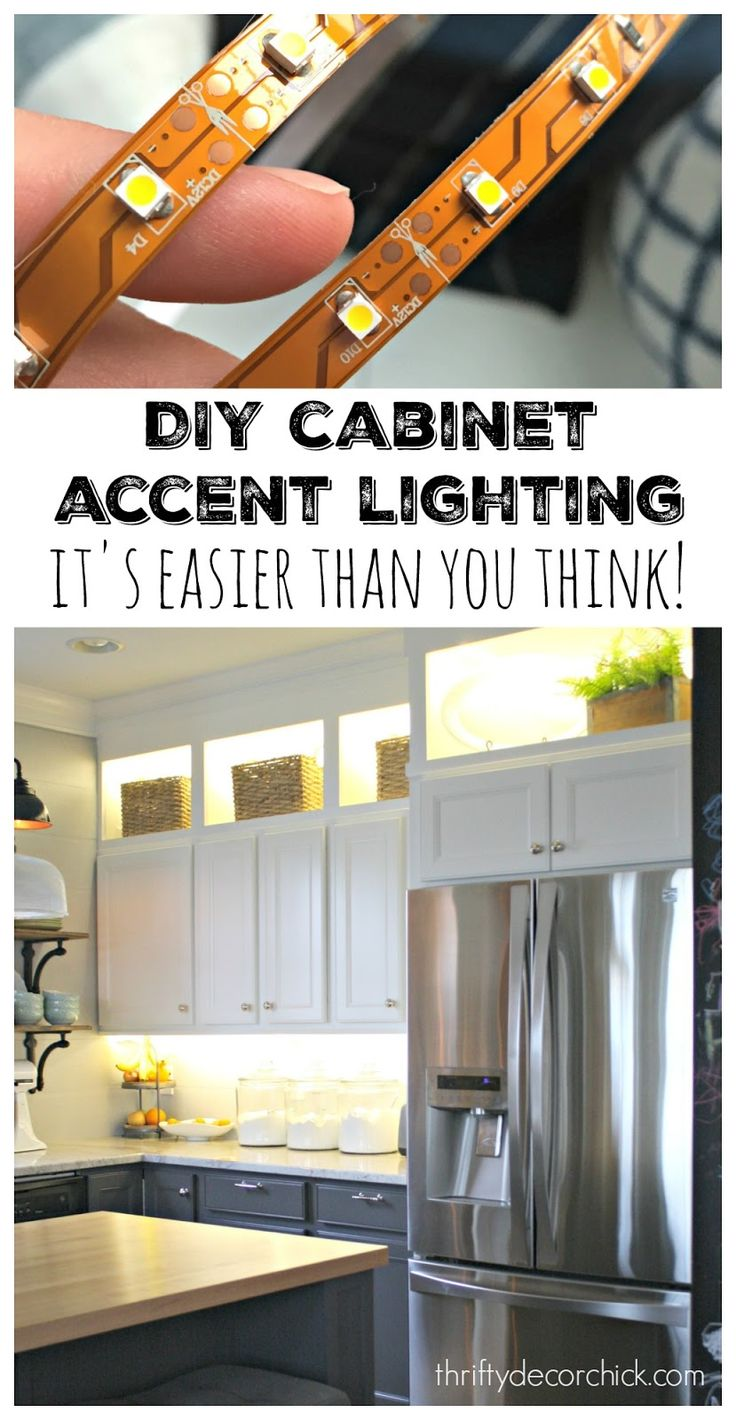 lighting above cabinets. thrifty decor chick diy upper and lower cabinet lighting above cabinets e