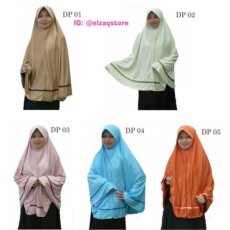 Hijab Instan Daily Pita Bahan Hyget Sutra Warna: biru muda, coklat susu, hijau mint, orange,  dan pink salem