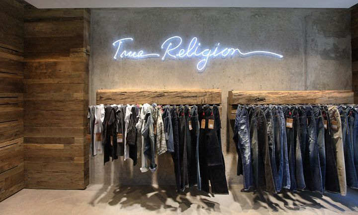 True Religion jeans store, Berlin