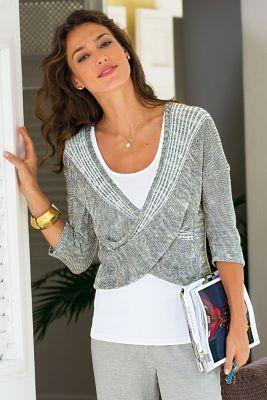 Wraparound Sweater from Soft Surroundings