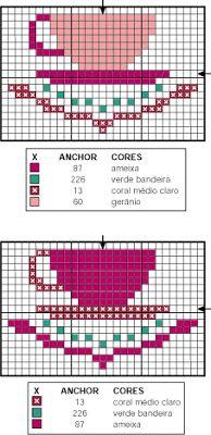 Meus tesouros: Graficos de ponto cruz