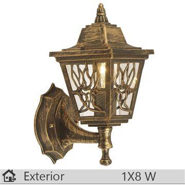 Aplica iluminat decorativ exterior Klausen, gama Boston, model nr1 Bronz http://www.etbm.ro/tag/687/iluminat-ieftin
