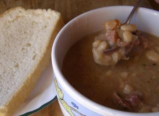 Ham and Bean Soup - Crockpot