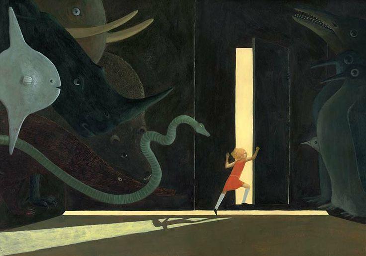 """Claire de Gastold illustration for """"Les chansons de Lalie Frisson""""."""