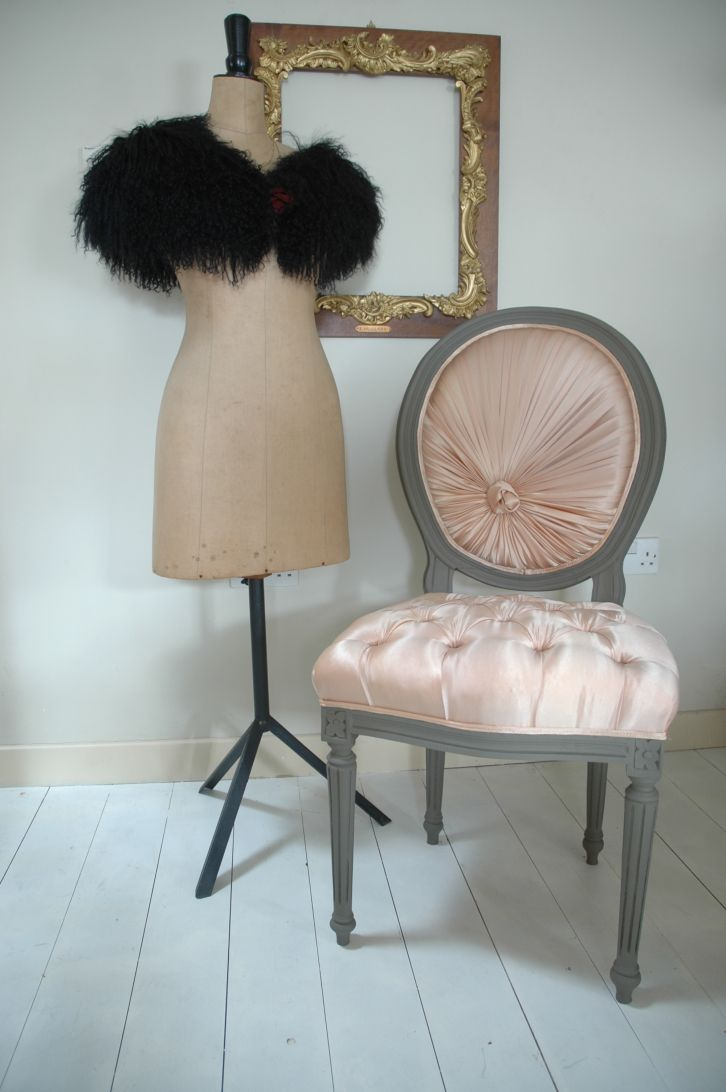French Boudoir Bedroom Ideas | Boudoir Chair from our Ghost Furniture range but now SOLD. Well that ...