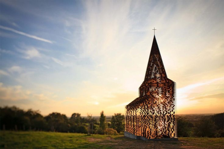 transparent church, belgium: Vans Vaerenbergh, Stands Tall, Architects, Public Spaces, Art, Columns,  Church Building, Belgium, Gij Vans