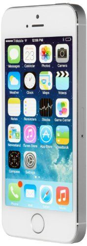 awesome Apple iPhone 5S Silver 64GB Unlocked Smartphone (Certified Refurbished)