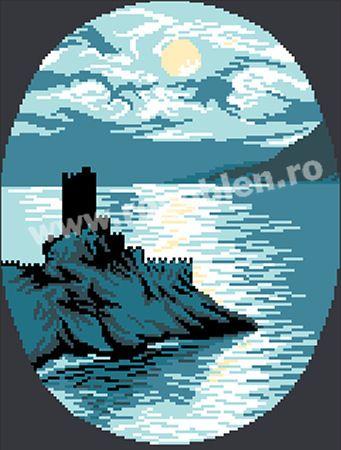 Cod produs 0.30 Castel la mare Culori: 7 Dimensiune: 12 x 16cm Pret: 30.50 lei