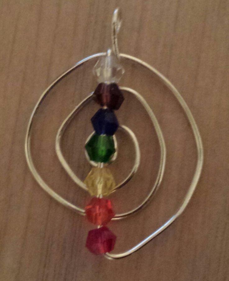 Chakra Chokurei Pendant with crystals