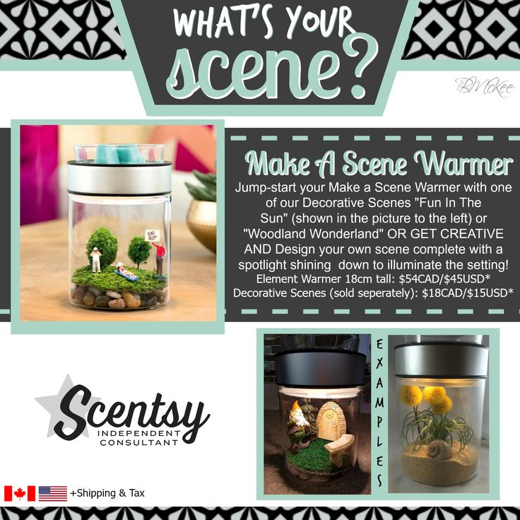 SCENTSY - Make A Scene Warmer Fall/Winter 2016 Available Sept 1st! Flyer By: Brittany McKee (Gerrity) Admin Of: No-Nonsense Canadian Flyers Sharing Group on Facebook www.brittanygerrity.scentsy.ca