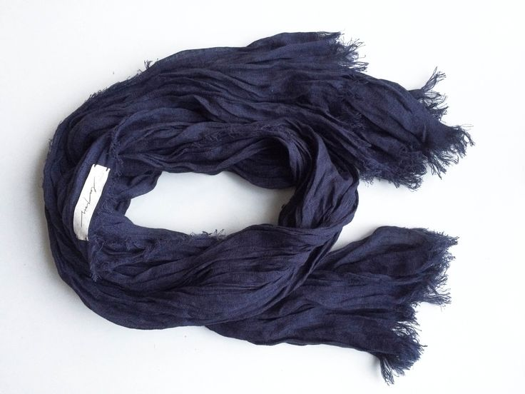 Льняной большой шарф. чистый лен | «Ламбада-маркет»