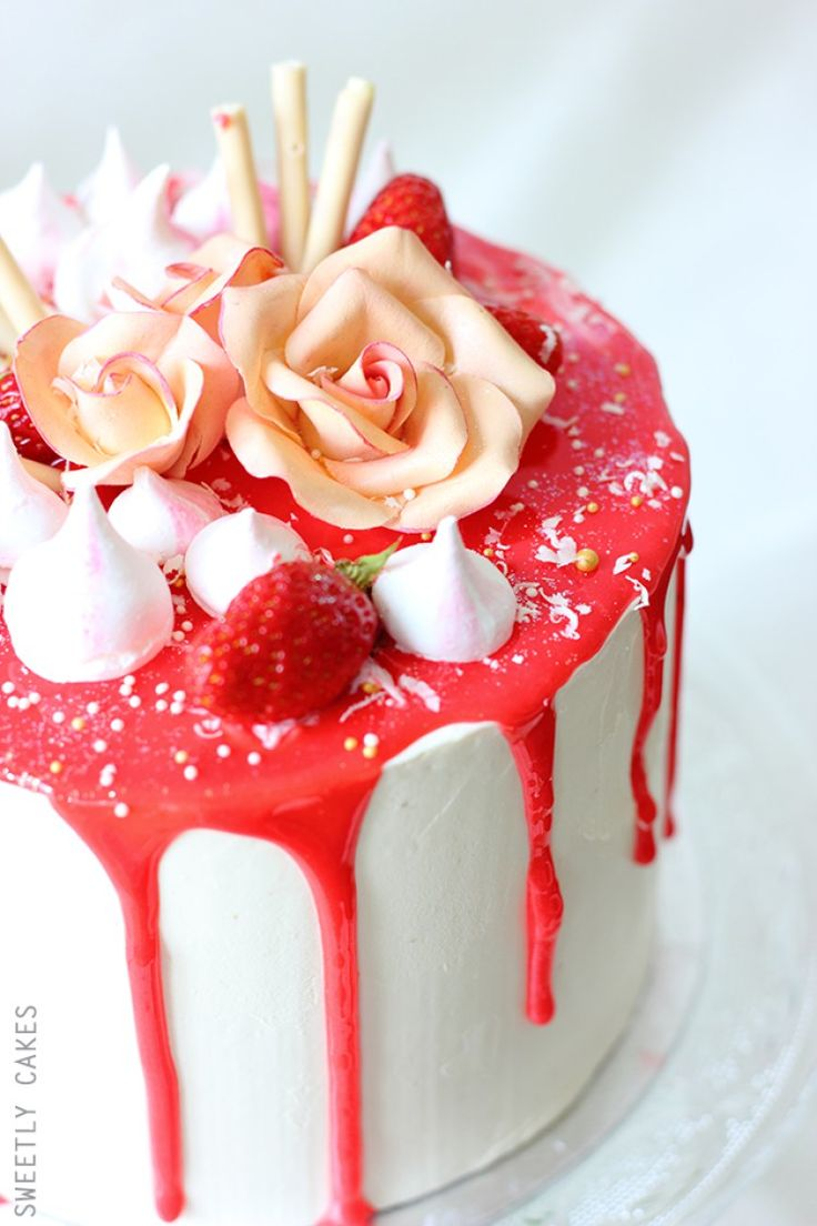 1000 id es sur le th me pops cake la fraise sur pinterest cake pop g teaux la fraise et - Glacage pop cake ...