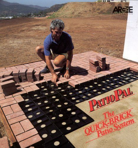 Patio Pal Brick Laying Guides, Covers 20 Square Feet, Black By Argee, Http