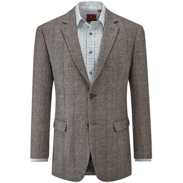 Skopes Hutton Wool Blend Jacket (5.325 RUB) ❤ liked on Polyvore featuring men's fashion, men's clothing, men's outerwear, men's jackets, sale men coats and jackets, mens blazers, mens checkered blazer, mens single breasted jacket, mens herringbone blazer and men's sherpa lined jacket