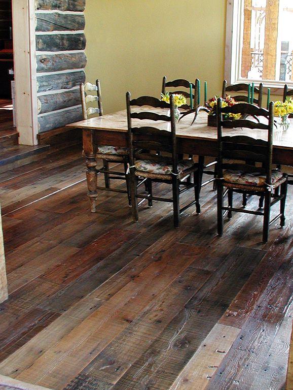 Pioneer Millworks Mcminnville Or Reclaimed Barnwood Barn Wood Floorswood Laminate