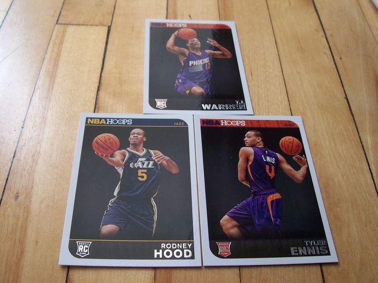TYLER ENNIS RODNEY HOOD T.J. WARREN 2014-15 NBA Hoops RC Lot of (3) Rookie Cards