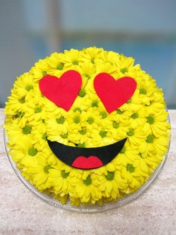 Regala Tu Emoticono Enamorado De Margaritas Flores A Domicilio