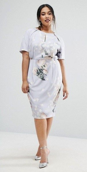 36 Plus Size Wedding Guest Dresses {with Sleeves