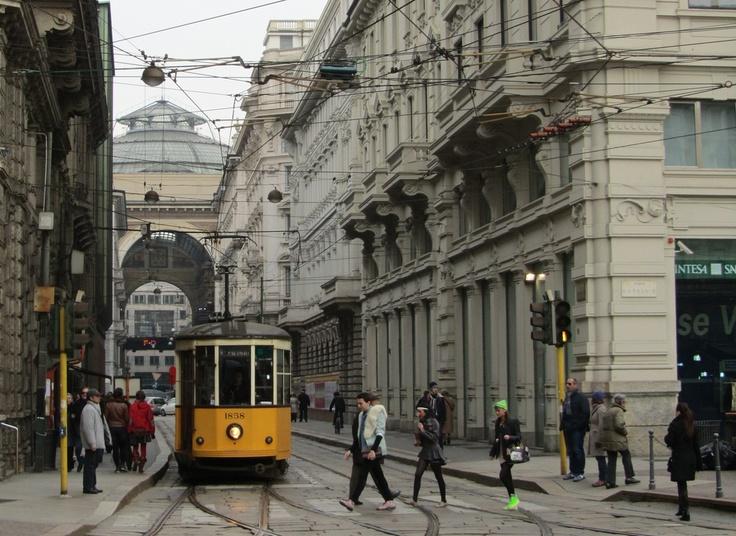 Tram in #Milan, #Italy