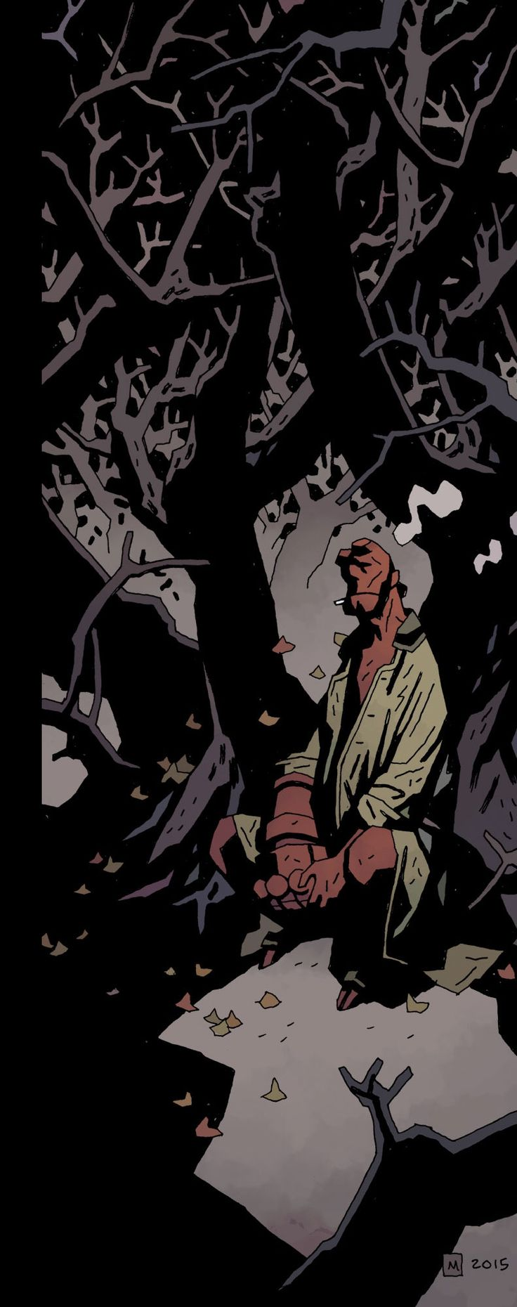 Mike Mignola: Hellboy in Hell #8
