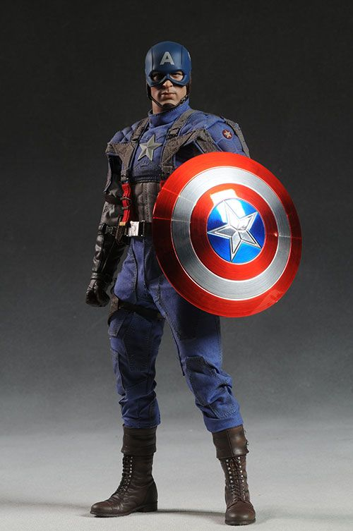 Captain America sixth scale action figure from Hot Toys