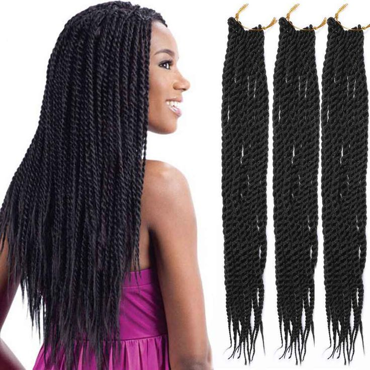 ... Hair Extensions on Pinterest Twisted Braid, Plaits and Crochet Hair