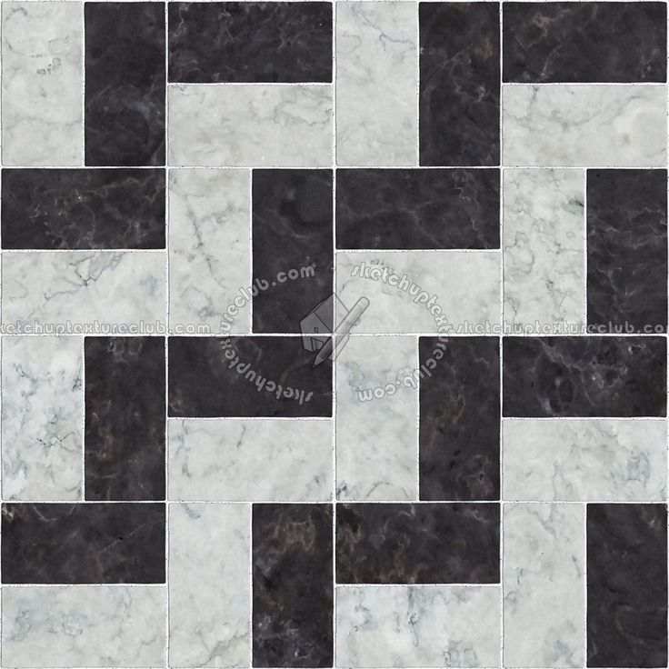 Black And White Marble Tile Texture Seamless 14147