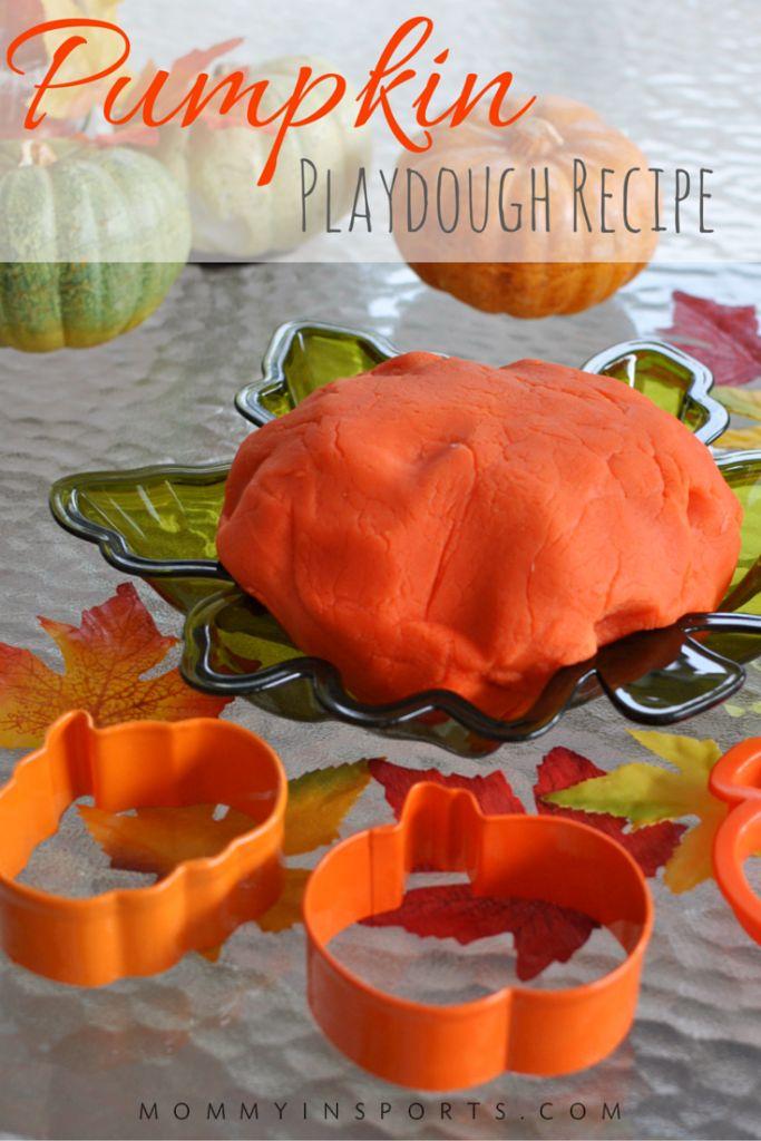 Pumpkin Playdough Recipe