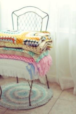 Good Morning Sunshine.Crocheted Afghans, Crochet Blankets, Crochet Afghans, Granny Chic, Crocheted Blankets, Crochet Throws, Granny Squares, Knits Blankets, Mornings Lights