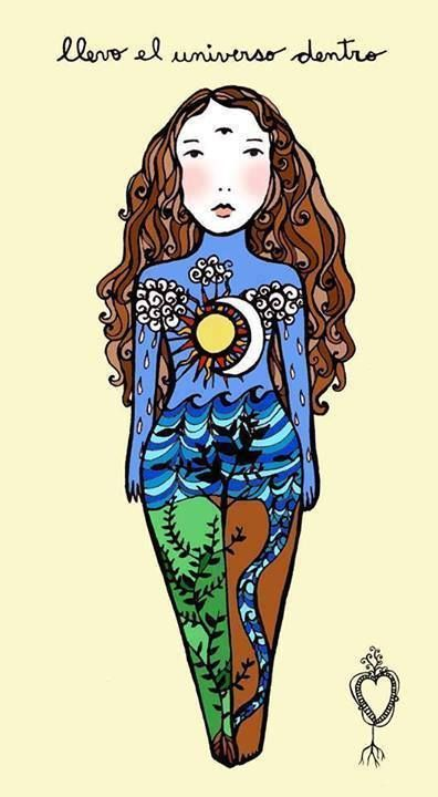 Llevo/llevas el Universo dentro... http://www.gorditosenlucha.com/