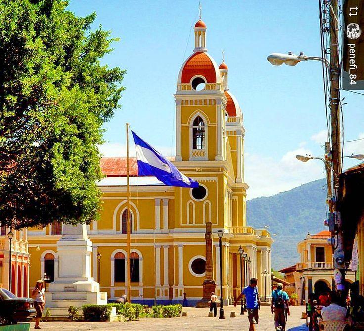http://OkGranada.com : @penefi_84: Good morning from #Granada #Nicaragua - #ILoveGranada #AmoGranada #Travel #CentralAmerica #GranadaNicaragua #architecture #colonial #spanish #flags #visitnicaragua #explorenicaragua #discovernicaragua #discoverminicaragua