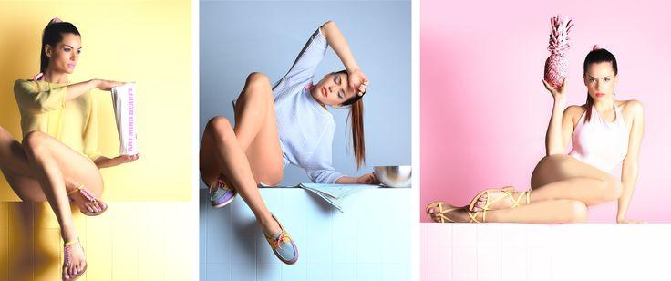 S/S campaign #pastel #shoes
