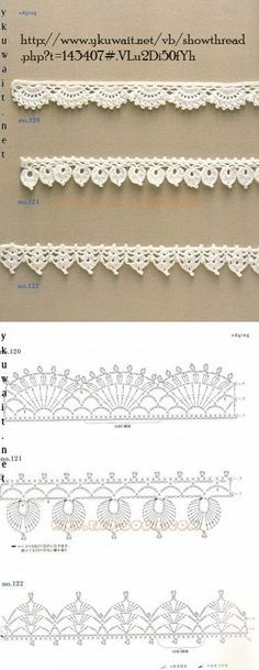 Crochet Lace Edging More