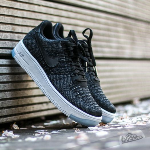 Nike W Air Force 1 Flyknit Low Black/ Black-White za 3 090 Kč