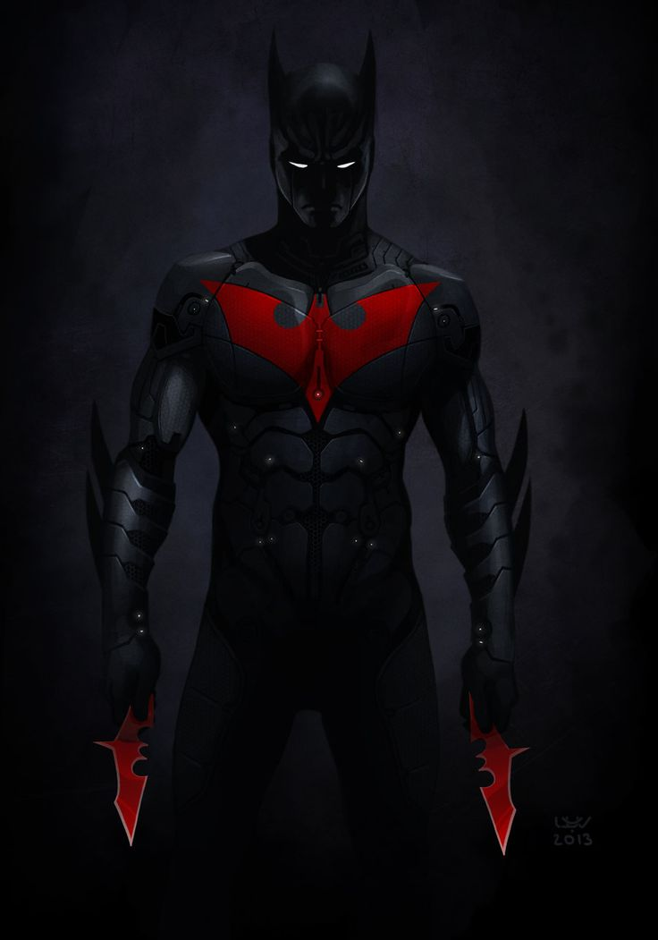Batman Beyond by *wyv1 on deviantART