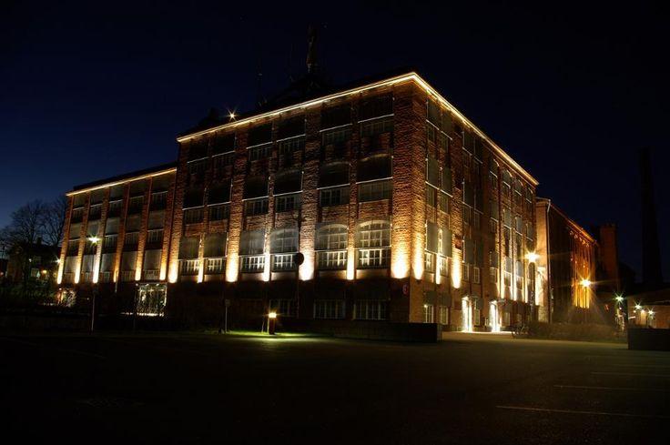 """University of Vaasa by Night 2"", Photographer: Mika Ruohonen"