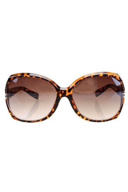 Chic Oversized Celebrity Sunglasses with Cut out Detail OASAP.com