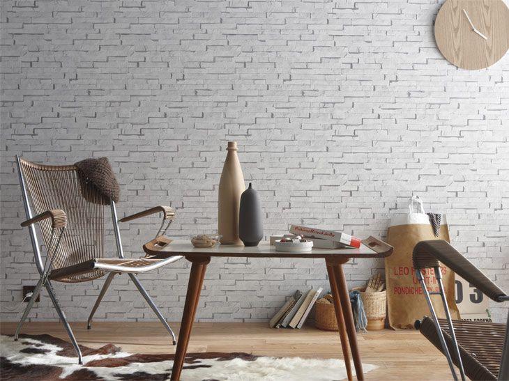 8 best papier peint brique images on pinterest paint exposed brick and bricks. Black Bedroom Furniture Sets. Home Design Ideas