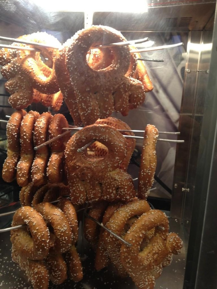 Philadelphia Flyers pretzels, nothing tastes better at a game, well except crab fries