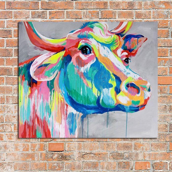 Nosey Cow – 3 Boots Art & Décor - www.3bootsartanddecor.com