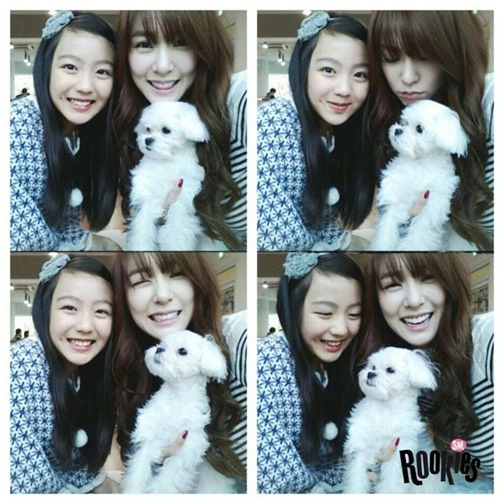 "SMROOKIES ""LAMI"" and Girls' Generation ""TIFFANY"" and ""PRINCE"""