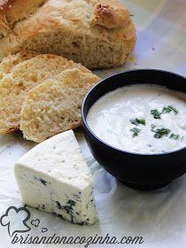 Brisando na Cozinha: Patê de gorgonzola com iogurte grego